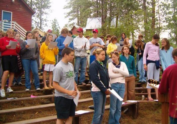 Dating at teen christian camp
